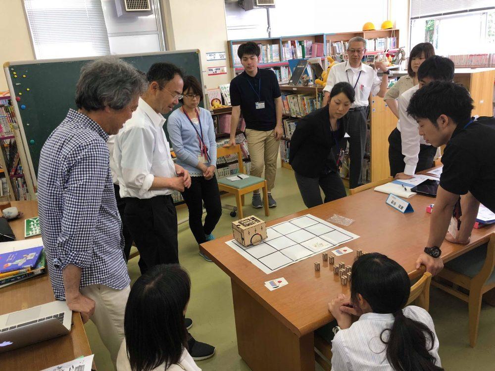 島嶼(三宅島)支援始まる  〜 東京都プログラミング教育推進校支援 〜